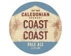 CRAFT BEER - Caledonian , Coast to Coast IPA